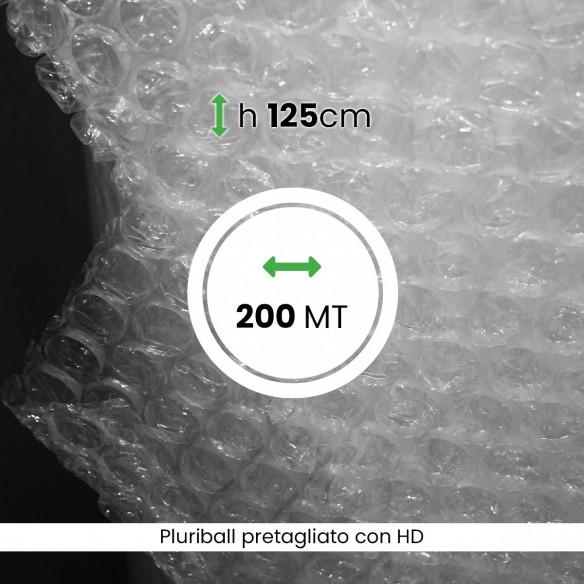 bobina Pluriball leggero pretagliato altezza 125 cm lunghezza 200 mt