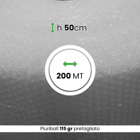 Bobina Pluriball pesante pretagliato altezza 50 cm lunghezza 200 mt
