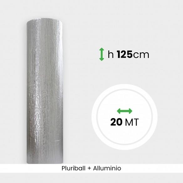 Rotolo Pluriball con alluminio altezza 125 cm lunghezza 20 mt