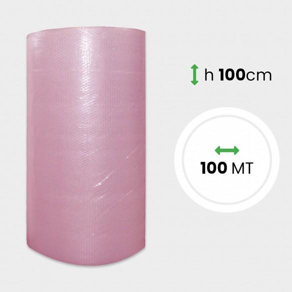 Bobina Pluriball Antistatico altezza 100 cm lunghezza 100 mt