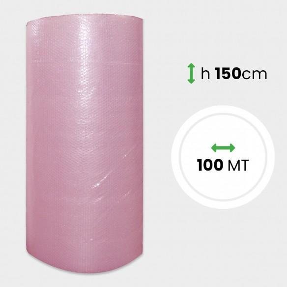 Bobina Pluriball Antistatico altezza 150 cm lunghezza 100 mt