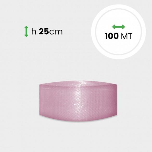 Bobina Pluriball Antistatico altezza 25 cm lunghezza 100 mt