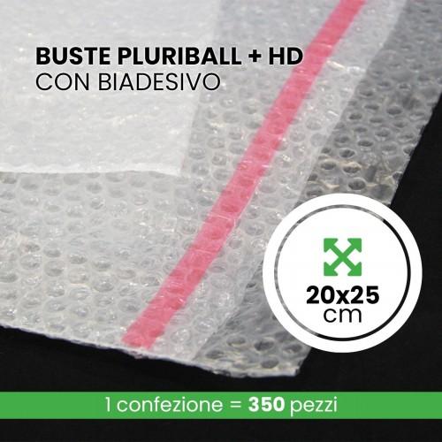 Buste Pluriball + HD 350 pezzi 20x25...