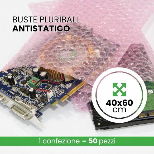 Busta Antistatico Rosa 40x60 cm
