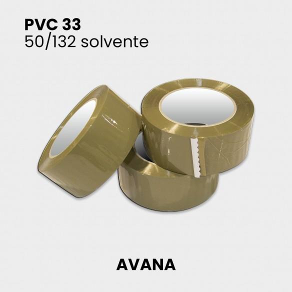 Nastro adesivo avana PVC 33 altezza 50 mm lunghezza 132 metri
