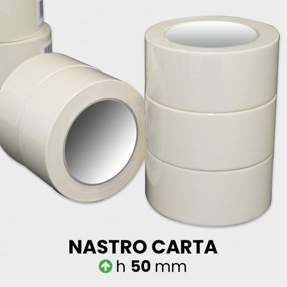 Nastro adesivo di carta altezza 50 mm lunghezza 50 metri