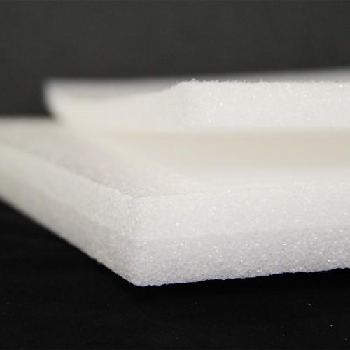 Pannello Espanso di polietilene Bianco altezza 120 lunghezza 200 cm spessore 60 mm