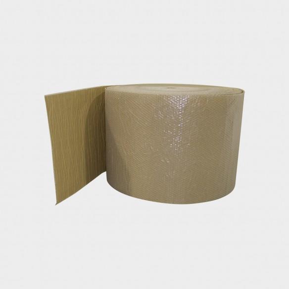Bobina Pluriball accoppiato con carta avana altezza 100 cm lunghezza 100 mt