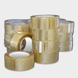 Nastro adesivo trasparente solvente PVC 33 altezza 50 mm lunghezza 66 metri