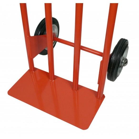 Porta Casse piastra larga 2 ruote 42x48x110 cm