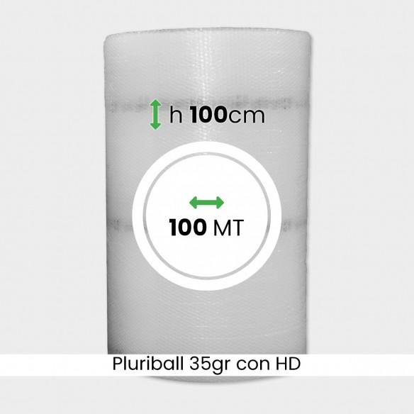 bobina di pluriball economico rinforzato con HD altezza 100cm lunghezza 100m