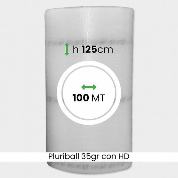 bobina di pluriball economico rinforzato con HD altezza 125cm lunghezza 100m