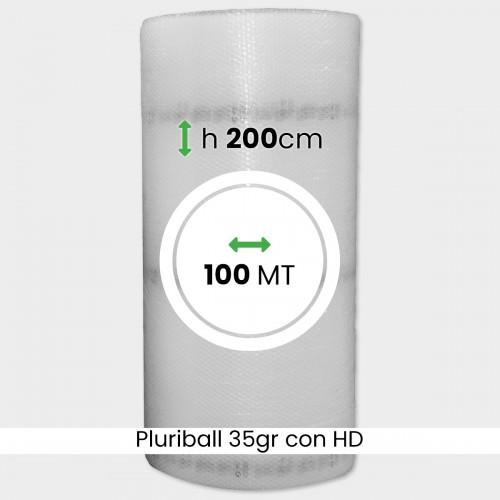 bobina di pluriball economico rinforzato con HD altezza 200cm lunghezza 100m