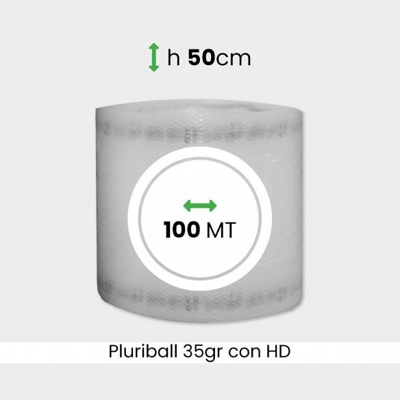 bobina di pluriball economico rinforzato con HD altezza 50cm lunghezza 100m