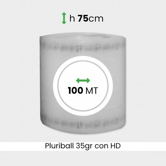 bobina di pluriball economico rinforzato con HD altezza 75cm lunghezza 100m