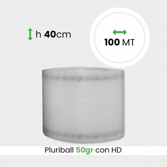 bobina di pluriball leggero rinforzato con HD altezza 40cm lunghezza 100m