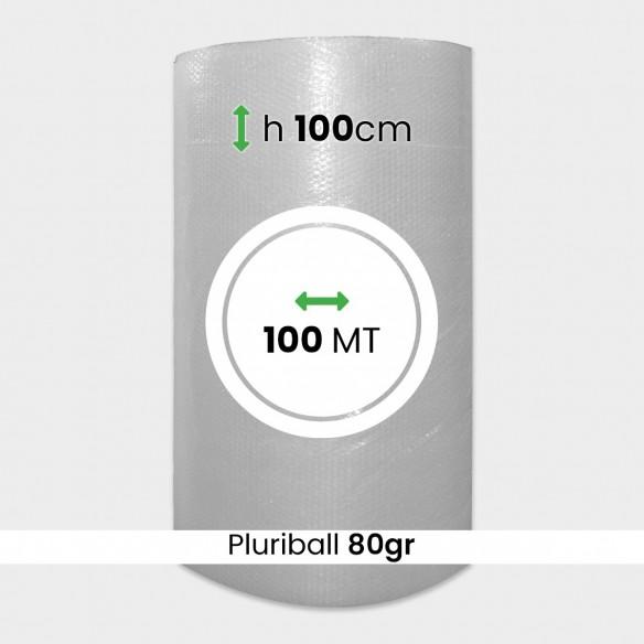 Bobina pluriball media resistenza altezza 100cm lunghezza 100m