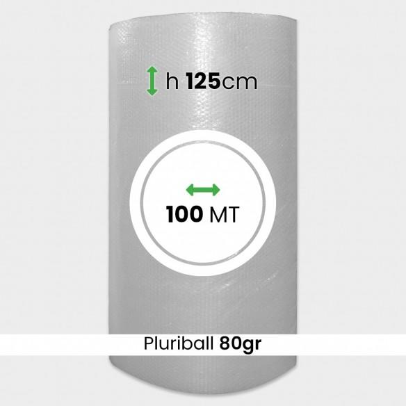 Bobina pluriball media resistenza altezza 125cm lunghezza 100m