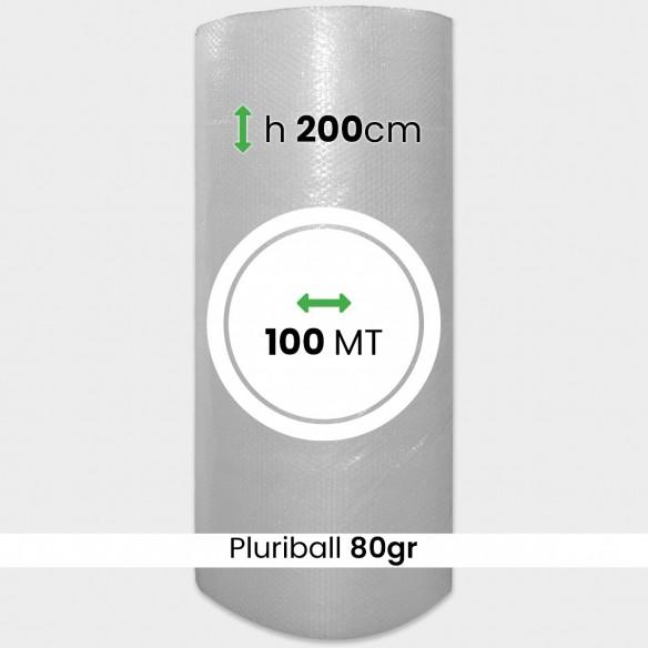Bobina pluriball media resistenza altezza 200cm lunghezza 100m