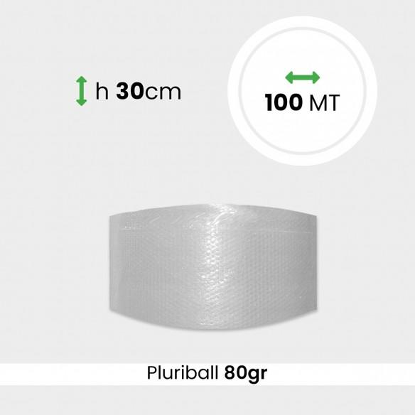 Bobina pluriball media resistenza altezza 30cm lunghezza 100m