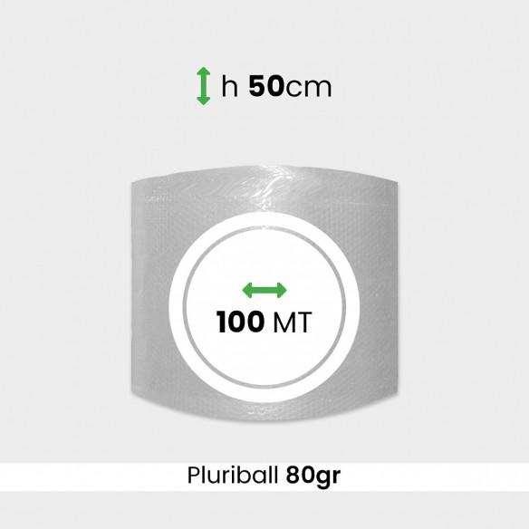 Bobina pluriball media resistenza altezza 50cm lunghezza 100m