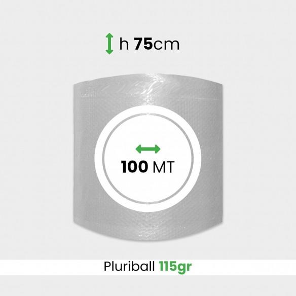 Rotolo Pluriball pesante altezza 75 cm lunghezza 100 mt