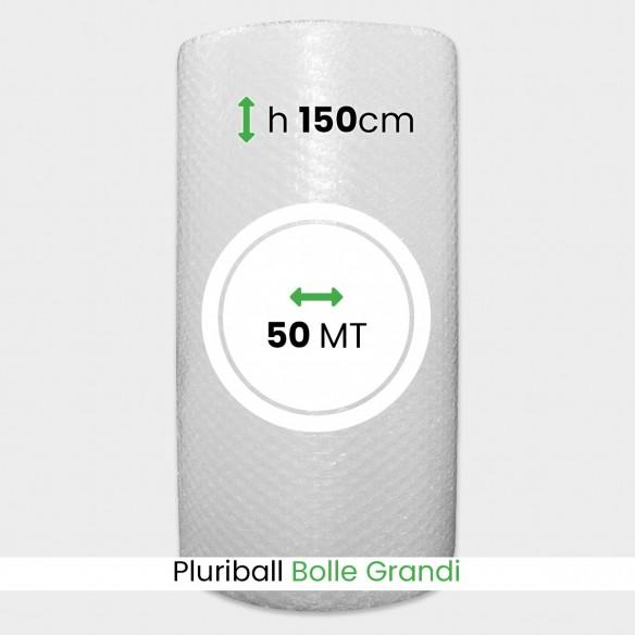 Bobina Pluriball bolle grandi altezza 150 cm lunghezza 50 mt