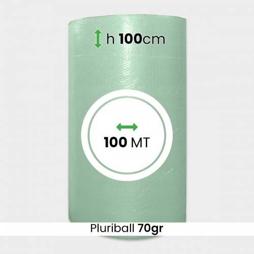 PLURIBALL RICICLATO 70 GR H 100 CM...