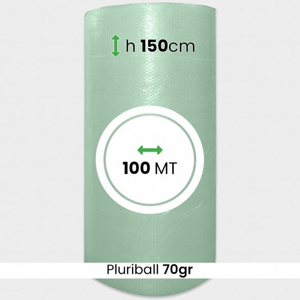 Rotolo Pluriball bolle grandi altezza 150 cm lunghezza 100 mt