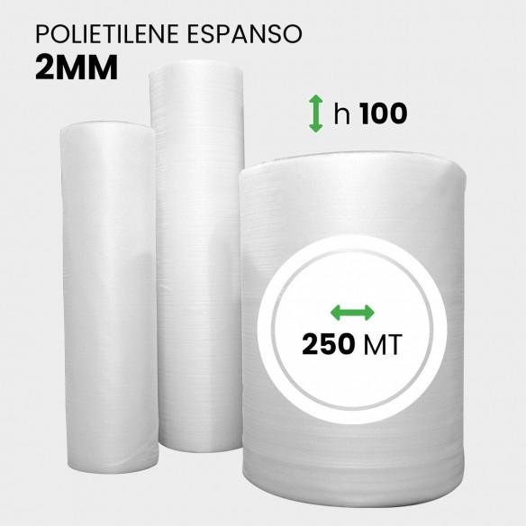 Rotolo Polietilene Espanso altezza 100 cm lunghezza 250 metri