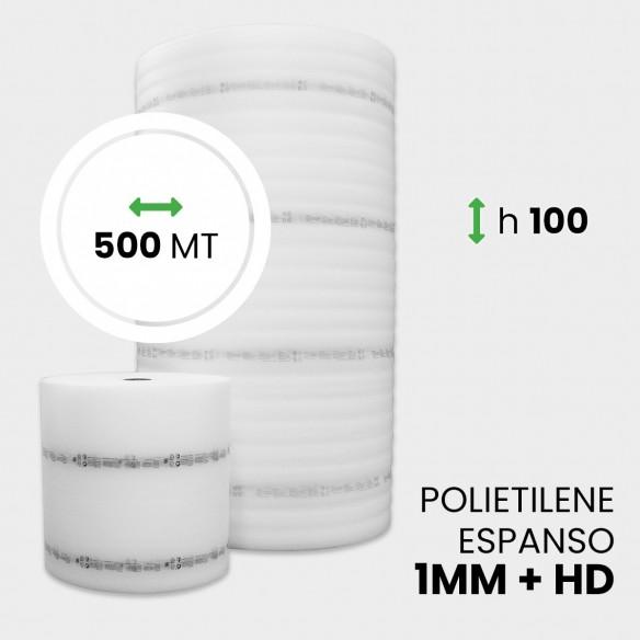 Bobina Polietilene Espanso + HD altezza 100 cm lunghezza 500 metri