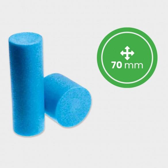 Cilindro pieno in Polietilene Espanso diametro 70 mm lunghezza 2 mt
