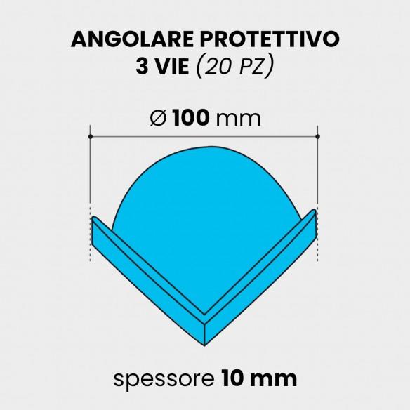 Angolare protettivo Espanso diametro 100 mm spessore 10 mm