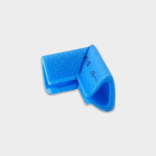 Angolo 10x10 cm a U 20 pezzi 5-15 mm