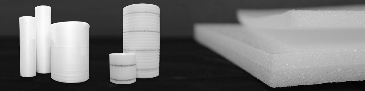 Imballaggi in Polietilene espanso: bobine, lastre, buste e profili